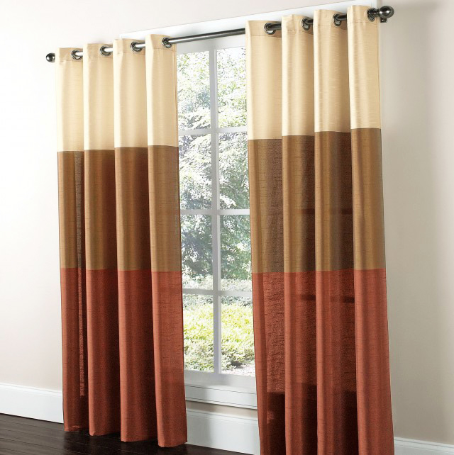 96 inch grommet top curtains
