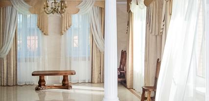 Пошив штор для банкетного зала