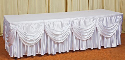 Фуршетные юбки для столов